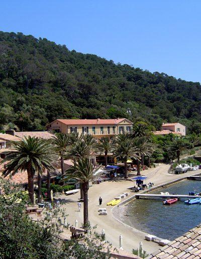 Haven Ile Port Cros, omgeving Bormes, Villa le Cactus
