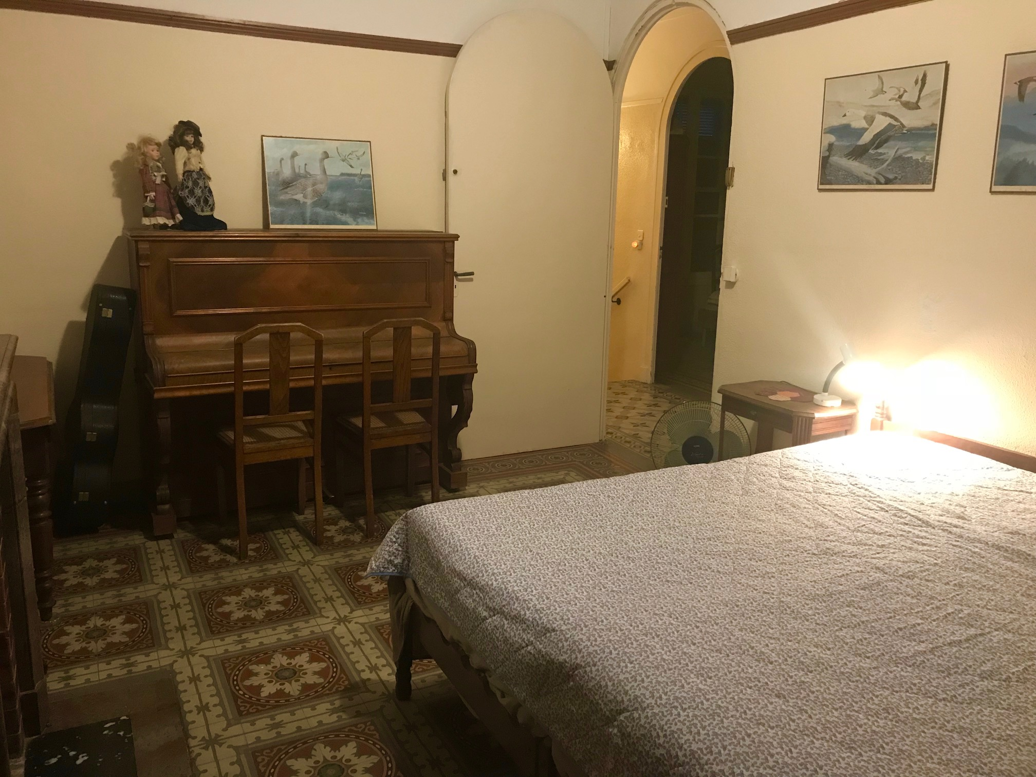 Bormes Slaapkamer 3 (pianokamer)